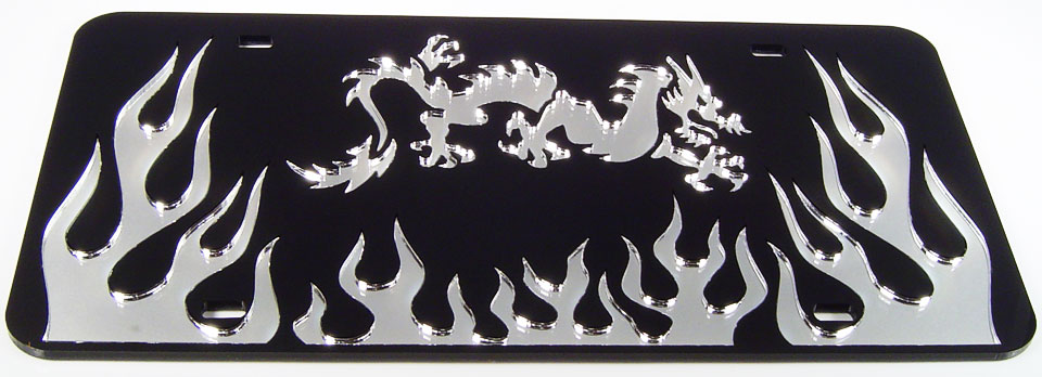 flames-dragon-black/silver