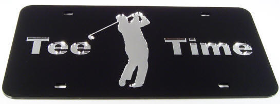Tee Time  black/silver