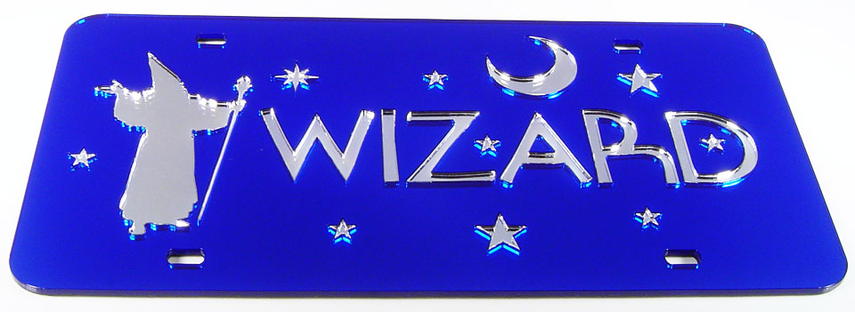 Wizard Blue - Silver